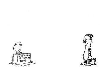 1214x861px Calvin and Hobbes Snowman Wallpaper