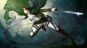 Kyojin Weapon Cape 3D Maneuver Gear Anime Male Boy HD Wallpaper b04