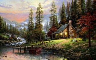 September 3 2015 By Stephen Comments Off on Mountain Cabin Wallpapers