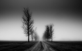 Road Black and white monochrome wallpapers and images   wallpapers
