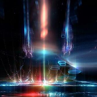Space Ship Interior Neon Lights HD Wallpaper 8778