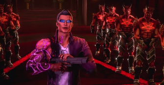 Saints Row Gat Out of Hell preview This game has an armchair that