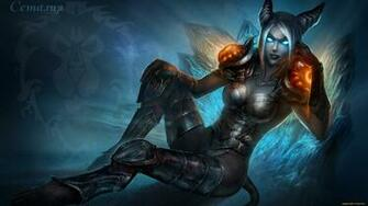 of Warcraft Demon Girl Wallpaper High Definition HD Games Wallpaper