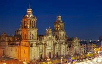 Mexico City Metropolitan Cathedral 4K HD Desktop Wallpaper for