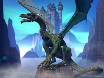 Wallpapers Backgrounds   3D dragon animation wallpaper bit blue sea