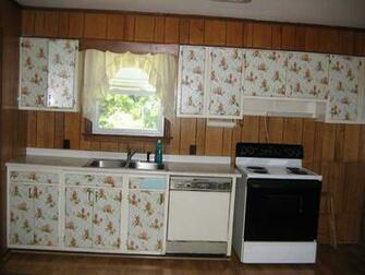 wallpaper on kitchen cabinet doors Greenville South Carolina home