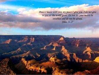 Encouraging bible verse screensaver