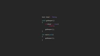 Inception code Wallpaper 2610