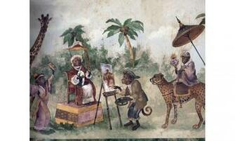 Home Wild Animals Zoo Wallpaper Border