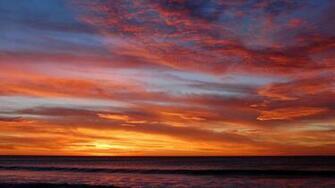 Ocean Sunset Wallpaper 35974 1920x1080 px HDWallSourcecom
