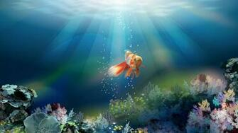 Related Wallpaper for Fish Wallpaper 3D Desktop