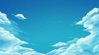Cartoon Blue Sky Hd Wallpaper Wallpaper List