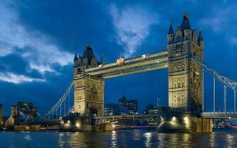 Tower Bridge London Twilight Wallpapers HD Wallpapers
