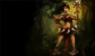 Nidalee Wallpapers Chinese American