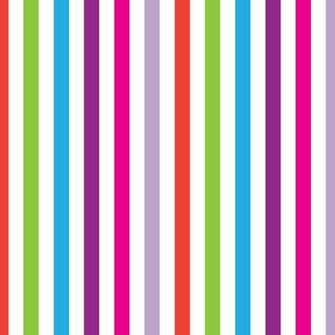 Silly Stripes Removable Wallpaper by Pop Lolli   RosenberryRoomscom