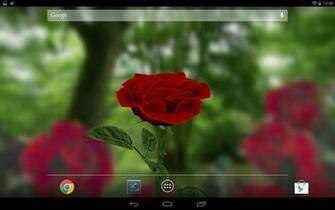3D Rose Live Wallpaper 40 screenshot 3