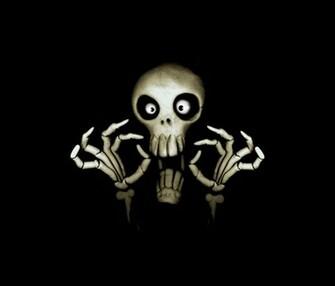 funny skull 1200x1024 screensaver wallpaper funny skull windows 7