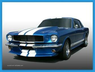Pin Ford Mustang Muscle Car