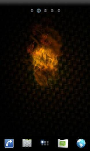 Fire Glow Live Wallpaper   screenshot