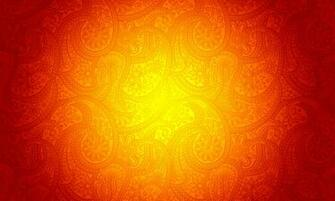 Orange Background with Ornamental Patterns Manarat Al Tibyan