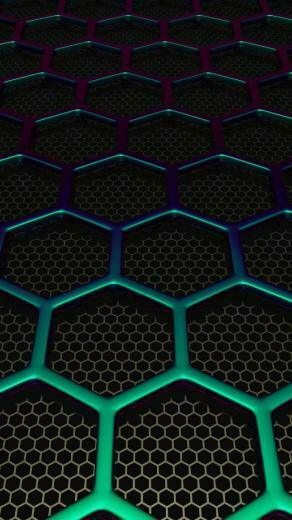 Download Hex Mesh Wallpaper by TetriTek   25   on ZEDGE now