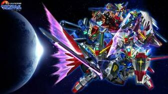 SD Gundam Capsule Fighter Online sci fi shooter tps action