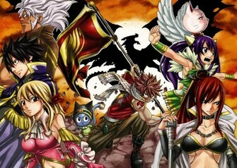 Fairy Tail Wallpaper HD Download ImageBankbiz