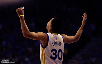 Stephen Curry Hands Up Lighting Wallpaper by ClydeGraffix by