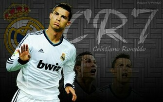 Cristiano Ronaldo CR7 Cool Wallpaper by DeathyO by DeathyOAlex