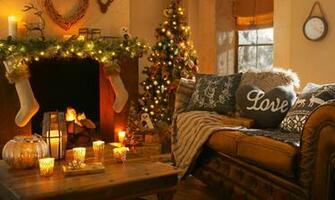 candles Christmas christmas tree magic christmas merry