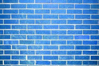 Sky Blue Brick Wall Texture Picture Photograph Photos Public