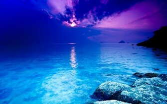 Blue Sea Wallpaper 2560x1600 Blue Sea Crystal Thailand