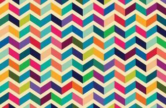 Multicoloured Zig Zag Pattern Wallpaper Wall Mural MuralsWallpaper