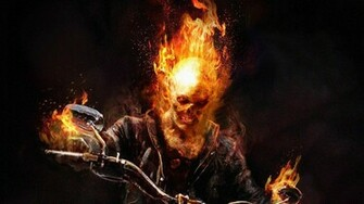125 Ghost Rider HD Wallpapers Backgrounds   Page 2