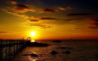 Golden Sunset HD Wallpaper Theme Bin   Customization HD Wallpapers