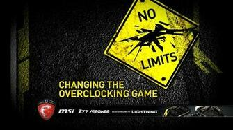 msi z77 mpower changing the overclocking game wallpaper 2560 1440