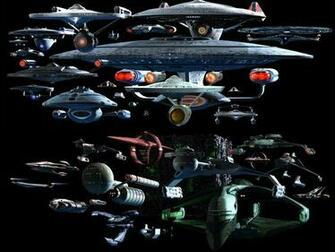 Star Trek All Ships Wallpaper Collection