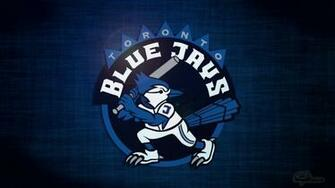 Toronto Blue Jays desktop wallpaper featuring a cartoon like blue jay