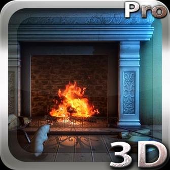 3d Fireplace Wallpaper - Fireplace Design Ideas