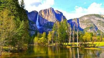 National Park HD wallpapers for Desktop 1366X768 Yosemite National