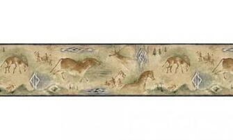 Animal Borders Deer Moose Animals Wallpaper Border B25021