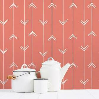 Hand Drawn Arrows Removable Wallpaper