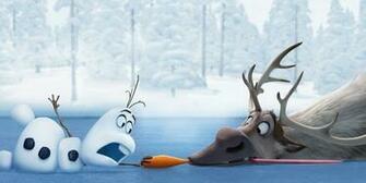 Frozen Juegoscom Sven y Olaf con la Zanahoria Descargar Fondos de