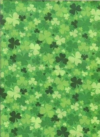 Green shamrock fabric Green St patricks day wallpaper Saint