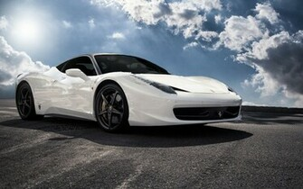white ferrari 458 italia wallpaper hd Vehicle Pictures