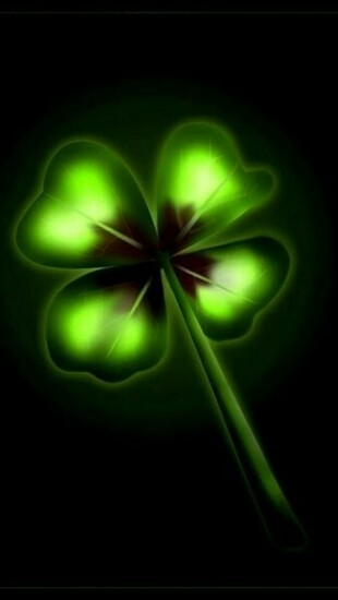 Four Leaf Clover   Cool iPhone Wallpapers
