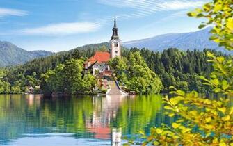 Nature Lake Bled Desktop Background Image Wallpapers13com