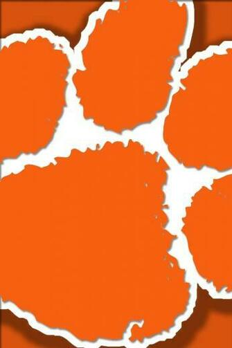 Clemson Paw iPhone 4s Wallpaper