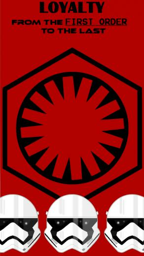 First Order IPhone 5 Wallpaper by Ahsokafan100