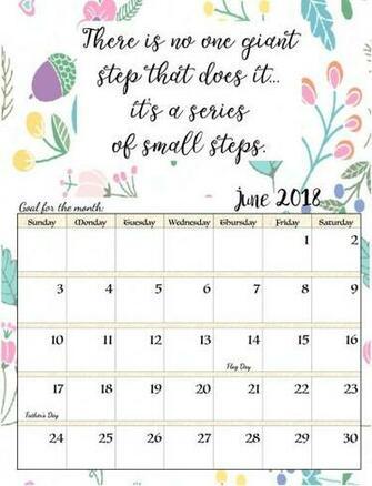 June 2018 Calendar Background For Desktop Laptop Mobile